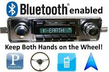 Bluetooth Enabled Stereo for 1958-1967 VW Bug New AM FM Radio USB AUX iPOD 300w