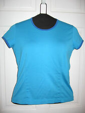 LADIES NIKE GOLF SHIRT Turquoise and Blue S/S SIZE Medium