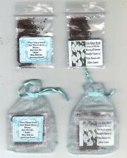 """25 Blue Baby Shower Favors  """" TWINKLE STAR theme """" Baby's Breath Seeds + Poem"""