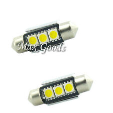 2PCS  36mm CANBUS  3 LED 5050 SMD 6418 C5W License Plate Dome Light Bulb