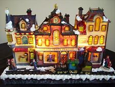 Christmas Festive Indoor Light Up Train Village Scene Decoration Lights NEW