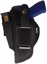 Gun holster w Mag Pouch fits Astra Constable 3 inch barrel use L or R hand draw