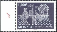 "Monaco 2004 ""1001 Nights""/Books/Stories/Literature/Peacock/Buildings 1v (n43865)"