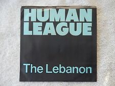 "Human League ""The Lebanon/Thirteen"" Picture Sleeve 45 RPM Record"