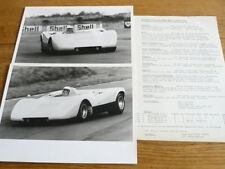 "TADEC MK2 GROUP SIX RACING CAR ""BROCHURE""   jm"