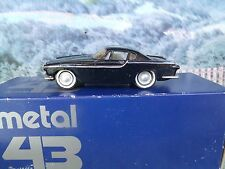 1/43 Metal 43 (England-Germany) Volvo P1800 Handmade White Metal Model Car