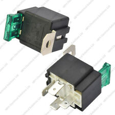 12V 4 broches 30A fusible relais avec support 12 volt normalement ouvert on/off automotive
