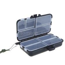 Fishing Tackle Fly Fishing Box Spinner Bait Minnow Popper 9 Compartments Hot