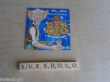 ROALD DAHL'S THE BFG WITH THE VOICE OF DAVID JASON - MAIL PROMO DVD - UNPLAYED