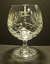 White Star Line, RMS Titanic, Crystal Brandy Glass, 1900's Style Replica.