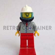 LEGO Minifigures - Coast Guard Fireman - res007 - Omino Minifig Figuren Set 4022