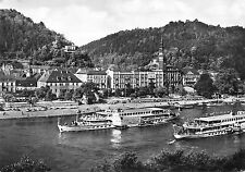 B98802 real photo sachs schweiz bad schandau  germany  ship bateaux