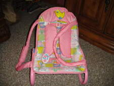 RARE ZAPF BABY BORN BABY CHAIR ROCKER CARRIER BOUNCER BOUNCY SEAT