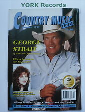 COUNTRY MUSIC PEOPLE MAGAZINE - December 1995 - George Strait / Alison Krauss