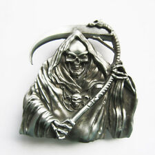 Belt Buckle for Men Grim Reaper Belt Buckle Gürtelschnalle Boucle de ceinture