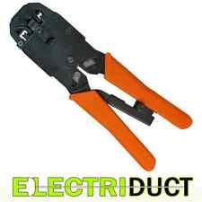 Crimp Tool - RJ11, RJ12, RJ45, 6x4, 6x6, 8x8 - CAT6A STP - Electriduct