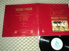 MUSIQUE PERSANNE- OCORA/RADIO-FRANCE-Enregist. réalisés par la rad.TV Iranienne