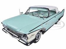 1960 PLYMOUTH FURY CLOSED CONVERTIBLE AQUA 1/18 PLATINUM EDITION BY SUNSTAR 5411