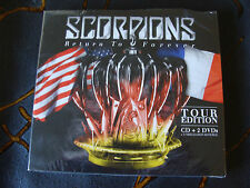 Slip Treble: Scorpions : Return To Forever : Tour Edition : CD & 2 DVDs Sealed