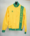 Adidas New York Cosmos Gold Green Track Soccer Jacket M Vintage Mens