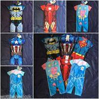 Swimming Sunsafe Suit Swim Girls Boys UV Peppa Frozen Batman Superman Ironman