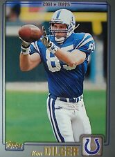 NFL 54 Ken Dilger Indianapolis Colts Topps 2001