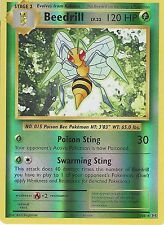 POKEMON XY EVOLUTIONS - BEEDRILL LV.32 7/108 REVERSE HOLO