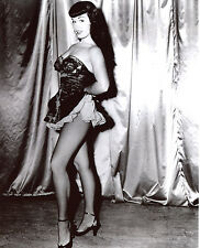 Bettie Betty Page Leggy 8x10 photo T0760