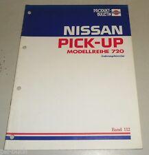 Werkstatthandbuch Technische Information Nissan Pick Up Reihe 720 Stand 1983