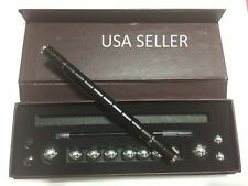 Dark Black Polar style Magnetic Pen With Stylus Toy & 12 Balls Gift Set