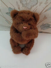 FUR REAL FRIENDS LUV CUB DARK BROWN BEAR INTERACTIVE BATTERY OPERATED TOY