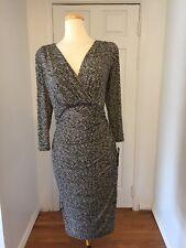 NWT Ralph Lauren  Size 14W Ruched Dress Original Price $144.00