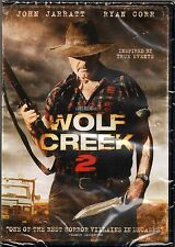 Wolf Creek 2 DVD John Jarratt, Ryan Corr, inspired by true events BRAND NEW