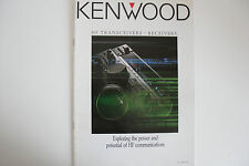 KENWOOD HF TRANSCEIVERS (GENUINE CATOLUGE ONLY)...RADIO_TRADER_IRELAND.
