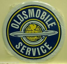 "OLDSMOBILE SERVICE 12"" metal sign vintage style Oldsmobile logo olds 442  rd-65"
