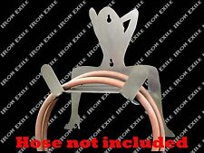 Lady Air Hose Holder Reel Garage Trailer Sexy Pinup Nude Electric Cord Xmas Gift