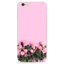 Shockproof  Flower Pattern Soft TPU Cover Phone Case For iPhone 5 SE 6 6s 7 Plus