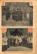 Conseil Municipal de Paris Exposition universelle de Gand 1913 ILLUSTRATION