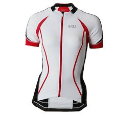 Gore Oxygen FZ Jersey Cycling T-shirt White/black (Medium) Size 12