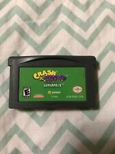 Crash & Spyro Superpack (Nintendo Game Boy Advance, 2005) *GAME ONLY*