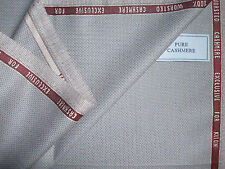 Kiton 100% WORSTED CASHMERE JACKETING FABRIC EXCLUSIVE FOR KITON – 2.0 m.