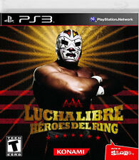 Lucha Libre AAA: Heroes of the Ring PS3 New Playstation 3