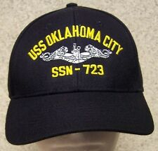 Embroidered Baseball Cap Military Navy USS Oklahoma City NEW 1 hat size fits all