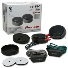 """PIONEER TS-S20 3/4"""" CAR AUDIO HIGH POWER COMPONENT DOME TWEETERS (PAIR)"""