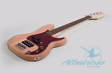 DIY Electric Bass Guitar Kit Project Bolt On Mahogany Body Neck Albatross B005