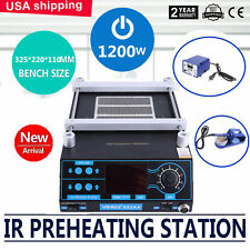 3 IN 1 IR Air Infrared BGA Rework Station Soldering Iron,Preheating Station TB