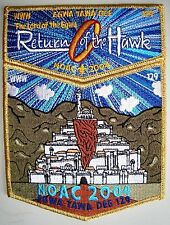 EGWA TAWA DEE OA GA 129 FLAP LORD OF RINGS NOAC 2004 2-PATCH GMY FELLOWS 30 MADE