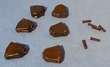 NEW GUITAR TUNING MACHINE HEAD BUTTONS BLACK KEYSTONE WITH CRANK 4 GIBSON