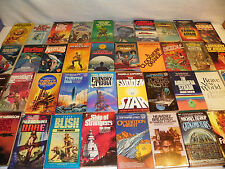 5lbs VTG 1960's/70's SCIENCE FICTION SCI-FI SF PAPERBACK BOOK LOT--FREE SHIPPING