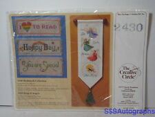 New Vintage 1987 THE CREATIVE CIRCLE 2430 BOOKMARK COLLECTION by Sue Miyata